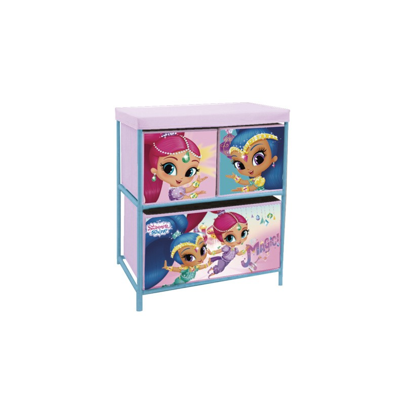 MUEBLE 3 CAJONES SHIMMER AND SHINE