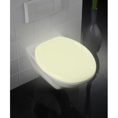 TAPA WC MOD. GLOW BRILLA EN LA OSCURIDAD. COLOR BLANCO