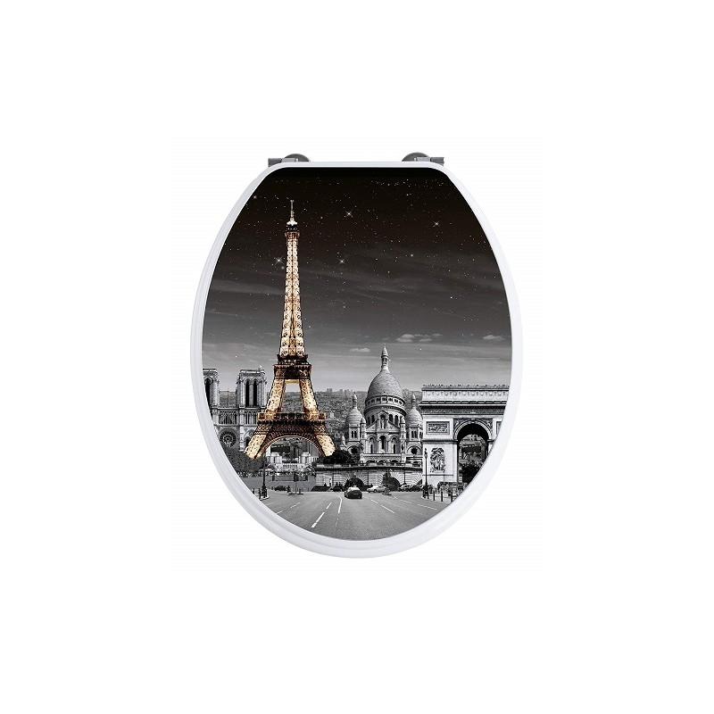 TAPA WC PARIS 3D