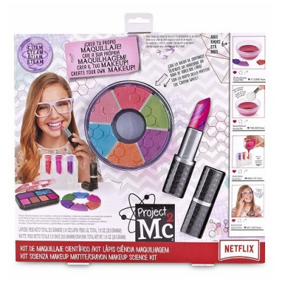 KIT DE MAQUILLAJE CIENTÍFICO. PROJECT MC2 DE NETFLIX