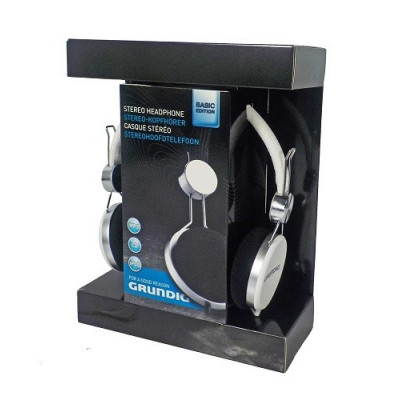 AURICULARES STEREO GRUNDING COLOR NEGRO