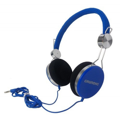 AURICULARES STEREO GRUNDING COLOR AZUL