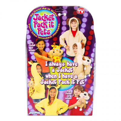JACKET PACK IT PETS - PINGÜINO- TALLA 7/8 AÑOS