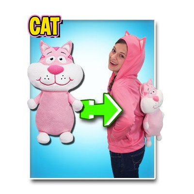 JACKET PACK IT PETS - GATO - TALLA 7/8 AÑOS