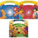 PACK 3 CUENTOS LIBROS CON CD