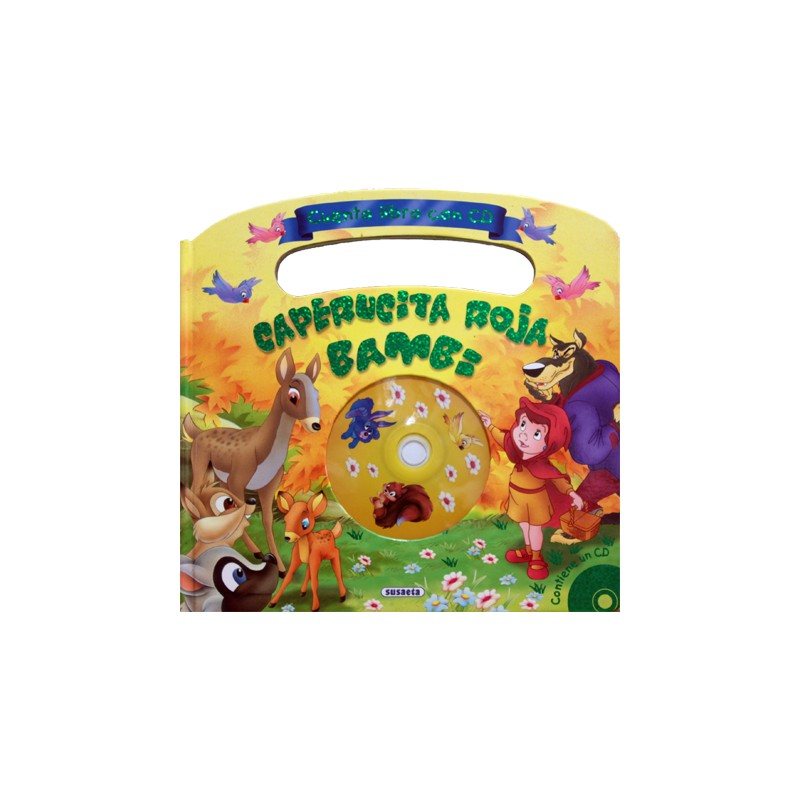 PACK 3 CUENTOS CON CD LA CASITA DE CHOCOLATE