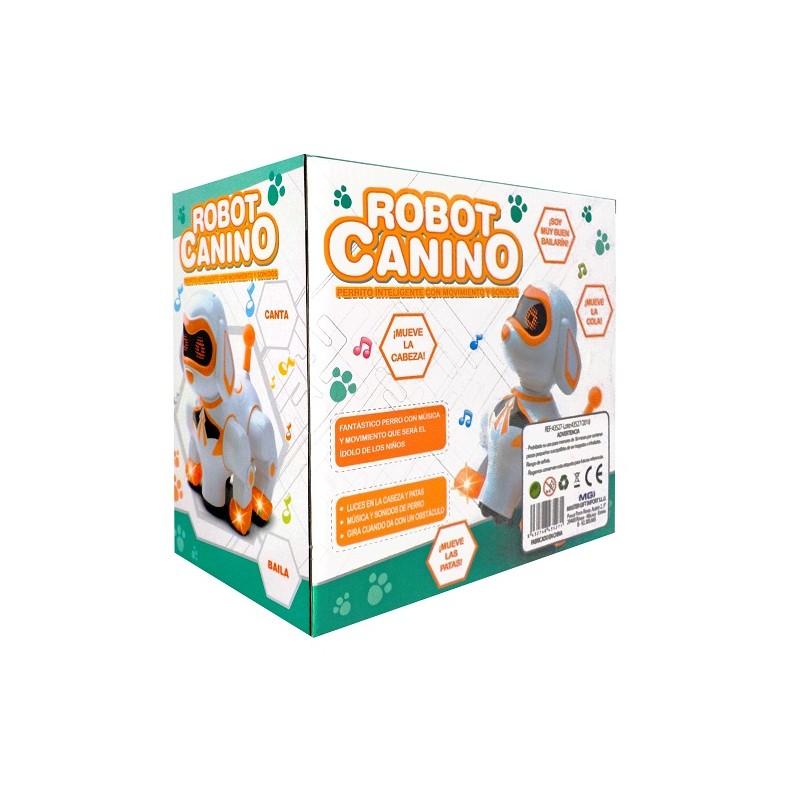 Robot Con Sonido Canino Y Luz Naranja fI7vmyYb6g