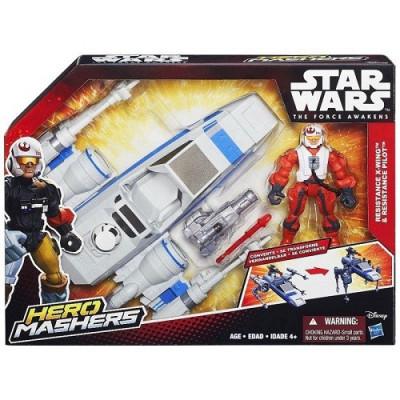 PLAYSET STAR WARS RESISTANCE X-WING DE HASBRO de la categoría Star Wars