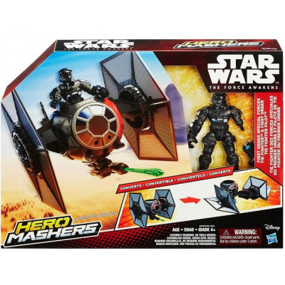 PLAYSET STAR WARS FIRST ORDER SPECIAL FORCES TIE FIGHTER de la categoría Star Wars