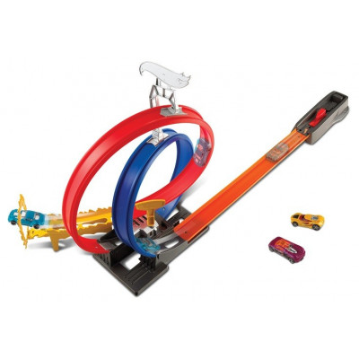 PISTA LOOPINGS HOT WHEELS ENERGY TRACK SET PK4
