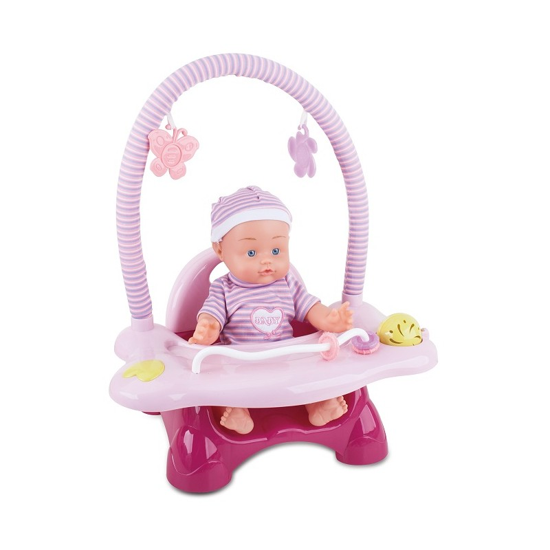 MUÑECA CON TRONA MUSICAL de la categoría Muñecas Bebé
