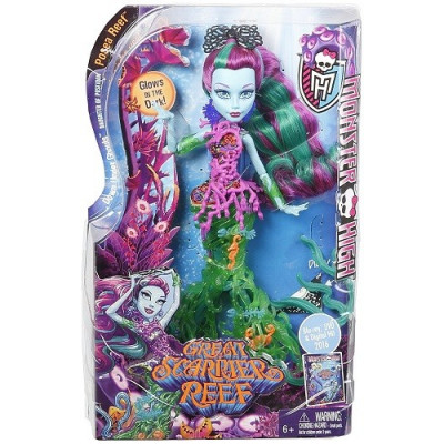 MONSTER HIGH GREAT SCARIER REEF MUÑECA 28 CM. Posea Reef, hija de Poseidón de la categoría Monster High