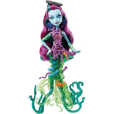 MONSTER HIGH GREAT SCARIER REEF MUÑECA 28 CM. Posea Reef, hija de Poseidón