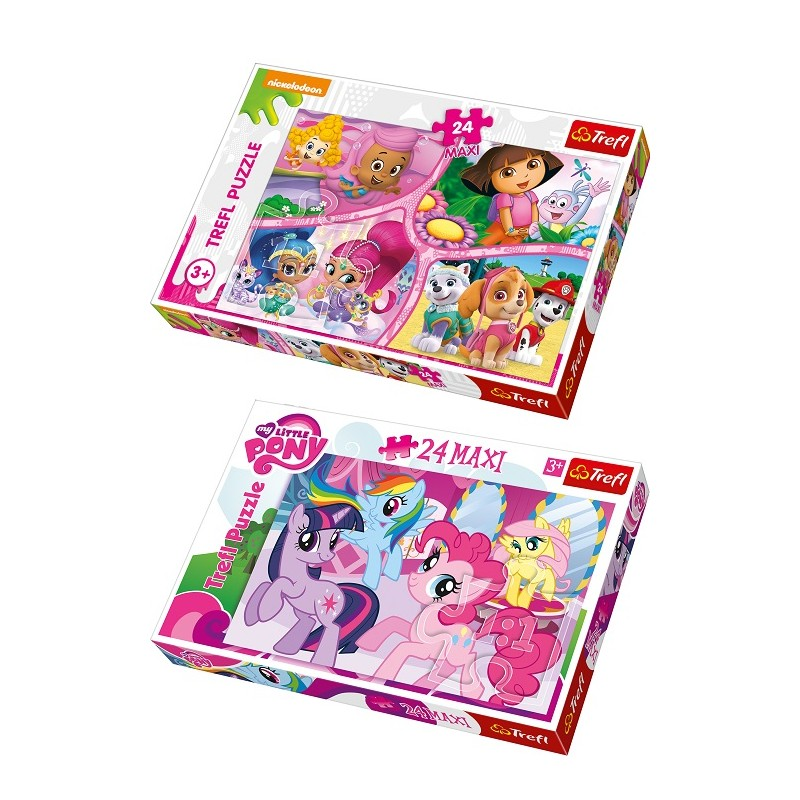 DUOPACK NICK JR(PAW PATROL AND OTHERS)   MY LITTLE PONY