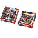 SET DE PUZLES DE MARVEL. 4 EN 1
