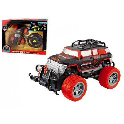 COCHE RC BIGFOOT MANDO VOLANTE ROJO