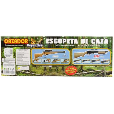 ESCOPETA DE CAZA CON CORREDERA. SONIDOS REALISTAS - MOD.1