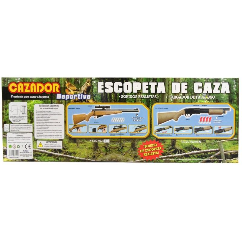 ESCOPETA DE CAZA CON MIRA TELESCÓPICA. SONIDOS REALISTAS - MOD.2