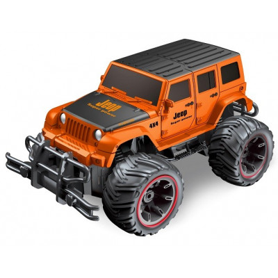 SUPER 4X4 TODOTERRENO RC ESCALA 1:14 JEEP NARANJA