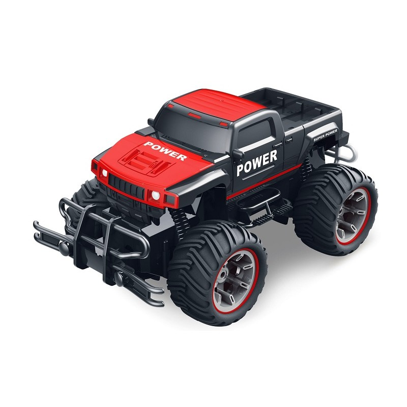 SUPER 4X4 TODOTERRENO RC ESCALA 1:14 PICK UP ROJO