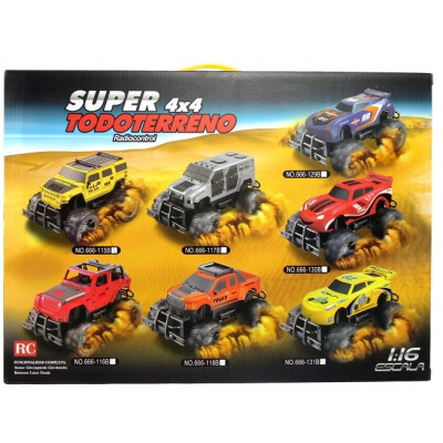 SUPER 4X4 TODOTERRENO. ALTA COMPETICIÓN AMARILLO