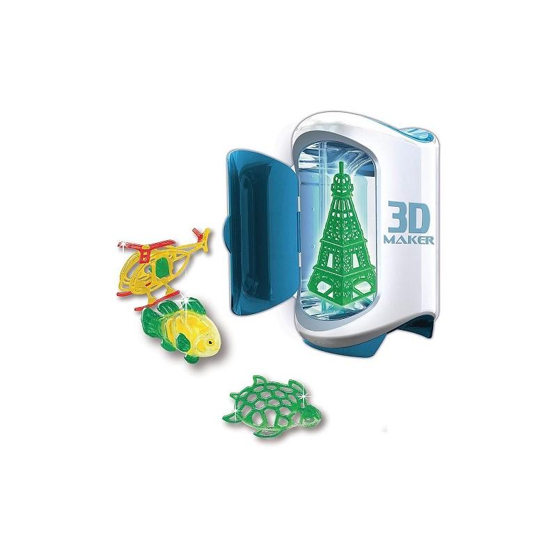IMPRESORA 3D CREA FIGURAS EN 3D