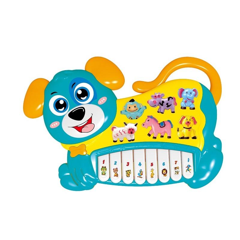 PIANO PERRITO ELECTRÓNICO AZUL de la categoría Preescolar