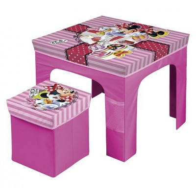 SET MESA Y TABURETE PLEGABLE MINNIE