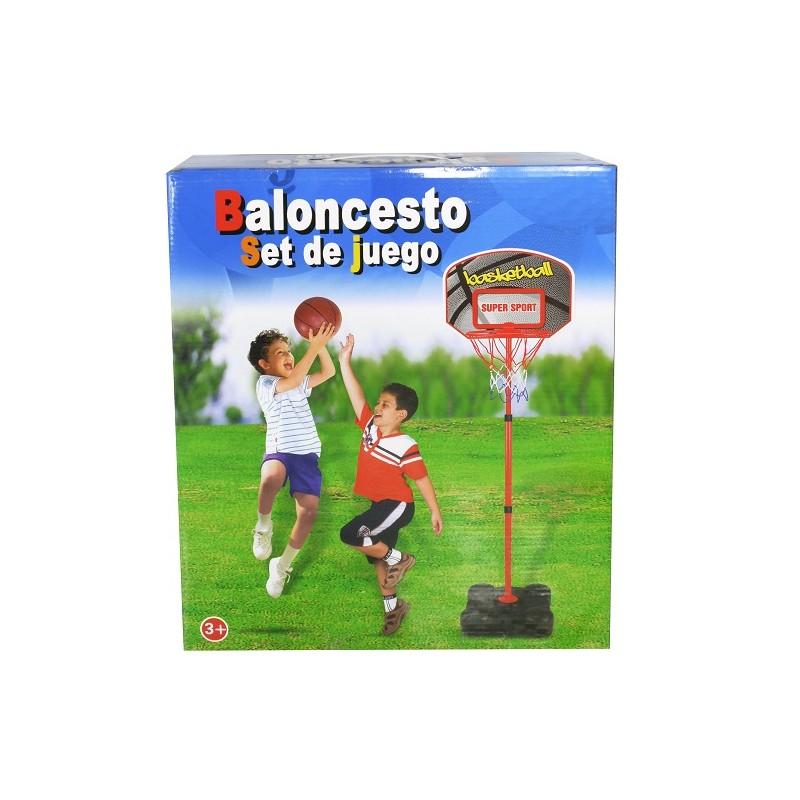 CANASTA BALONCESTO CON BALON 141CM