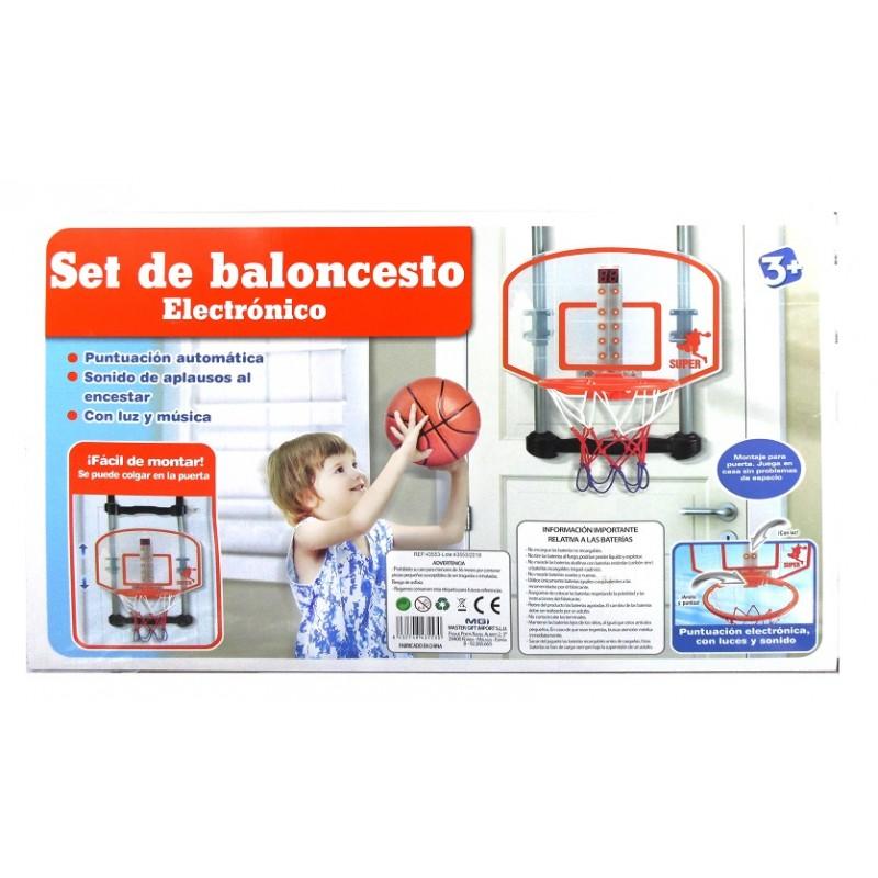 CANASTA BALONCESTO PARA PUERTA