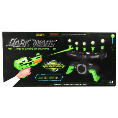 SPACE WARS TIRO ESPACIAL NEGRO