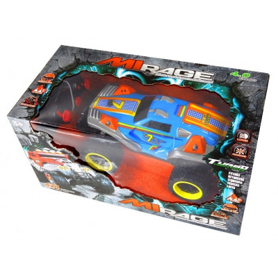 COCHE RC MONSTER ESCALA 1:14 NEGRO