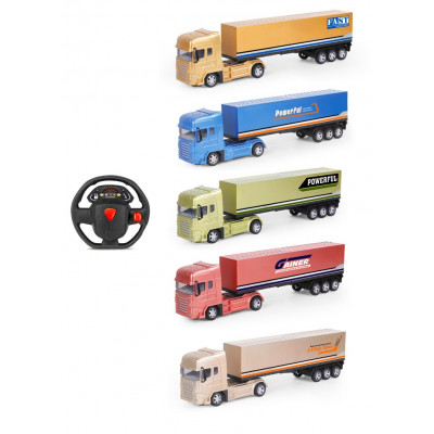 TRAILER RC A PILAS 3 COLORES SURTIDOS