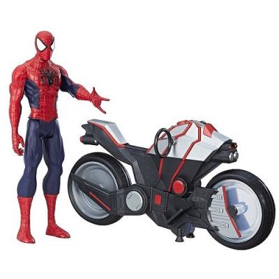 ESPIDERMAN CON SPIDER-CYCLE de la categoría Spiderman