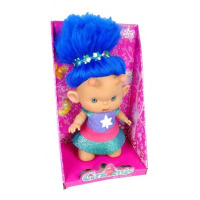 GNOMIS DEL BOSQUE PELO AZUL de la categoría Muñecas Bebé