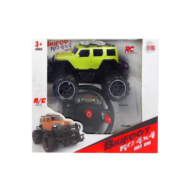 COCHE BIGFOOT RC 4X4 OLIVA de la categoría Radio Control