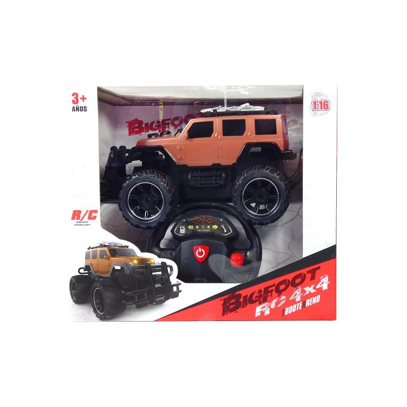 COCHE BIGFOOT RC 4X4 BRONCE
