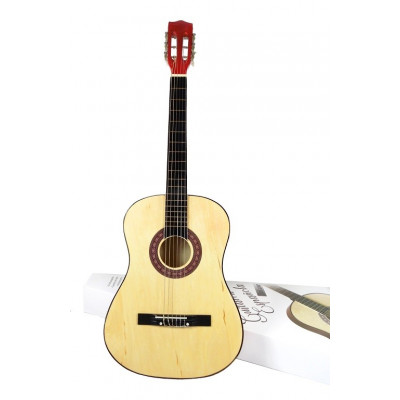 "GUITARRA ESPAÑOLA DELUXE 38"" COLOR PINO NATURAL"