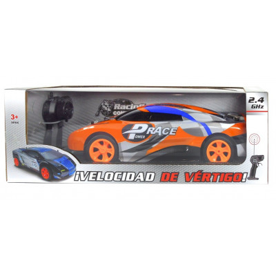 COCHE RC RALLY 2.4 GHZ NARANJA