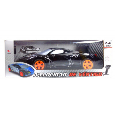COCHE RC RALLY 2.4 GHZ NEGRO