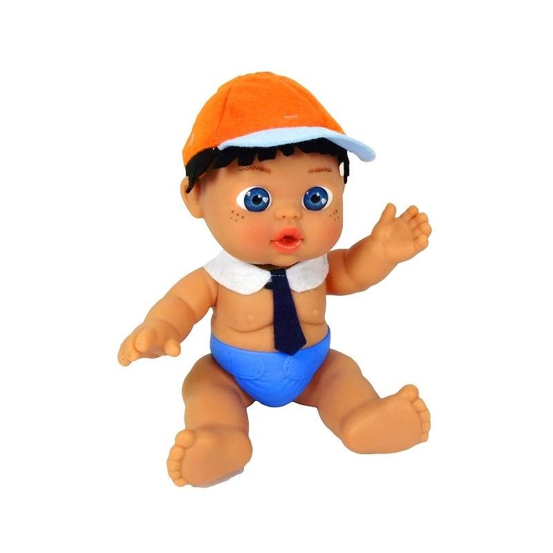 MINI BEBE PERSONAJE ESTUDIANTE 26 CM DE FALCA de la categoría Muñecas Bebé