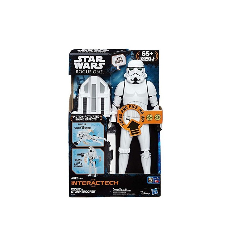 STAR WARS STORMTROOPER IMPERIAL  FIGURA INTERACTIVA