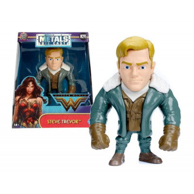 FIGURAS METAL COLECCIONABLE STEVE TREVOR - WONDER WOMAN