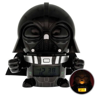 RELOJ DESPERTADOR CON LUZ DARTH VADER - STAR WARS
