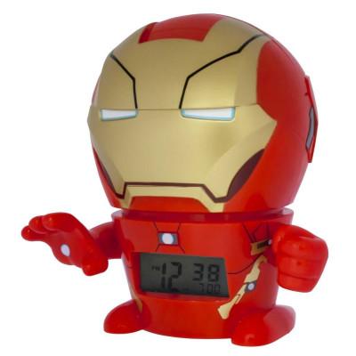 RELOJ DESPERTADOR CON LUZ IRON MAN - AVENGERS ASSEMBLE de la categoría Avengers
