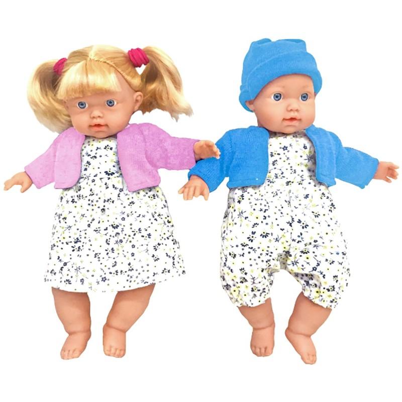 PAREJA DE GEMELOS MAMI CUÍDAME de la categoría Muñecas Bebé