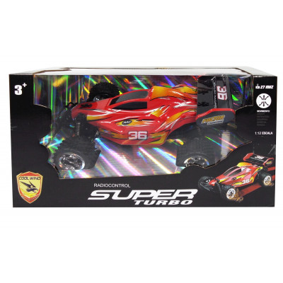 COCHE RC SUPER TURBO COOL WIND EN ROJO