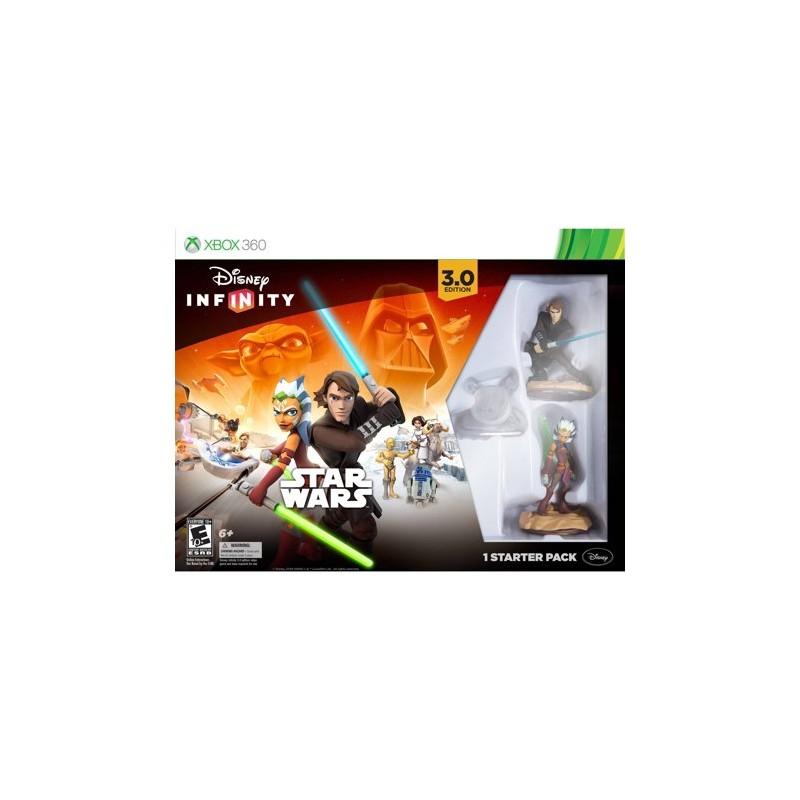 INFINITY 3 STAR WARS STARTER PACK XBOX 360 + 3 FIGURAS de la categoría Juegos