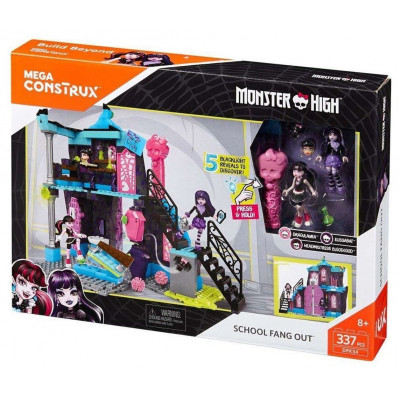ESCUELA FANG OUT MONSTER HIGH DE MEGA CONSTRUX