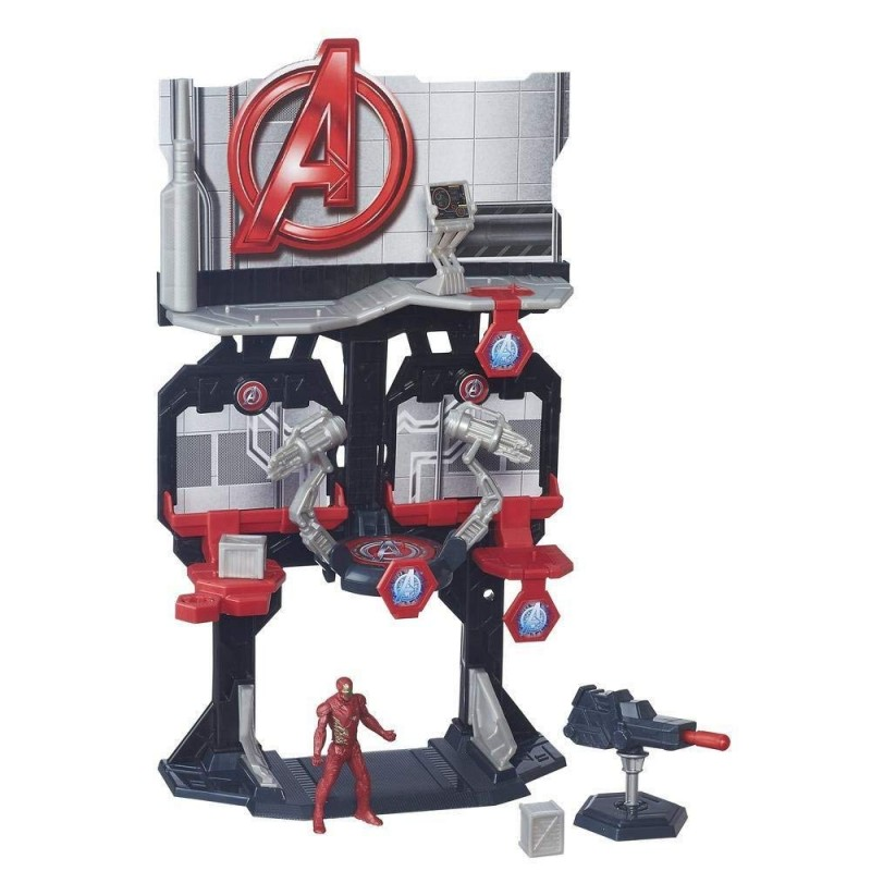 BUNKER DEL CAPITAN AMERICA CIVIL WAR PLAYSET